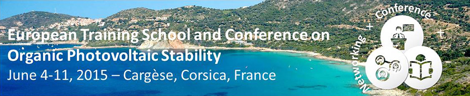 ESOS European training school and conference on organic photovoltaic stability